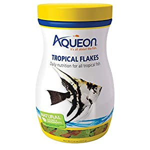 Aqueon Tropical Flakes Fish Food, 7.12-Ounce 98