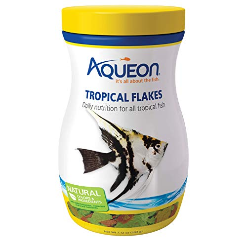 (Aqueon Tropical Flakes Fish Food, 7.12-Ounce)