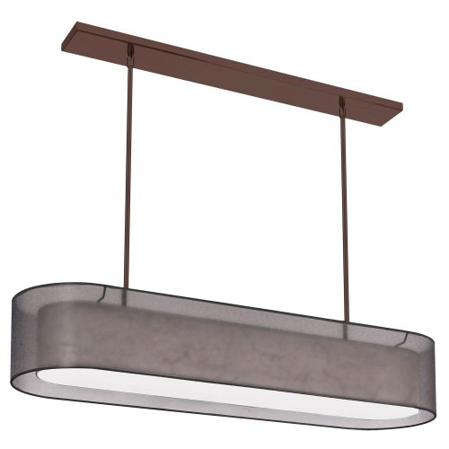 Oval Drum Light Pendant in US - 5
