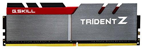 G.SKILL 8GB (2 x 4GB) TridentZ Series DDR4 PC4-33600 4200MHz For Intel Z170 Platform Desktop Memory Model F4-4200C19D-8GTZ