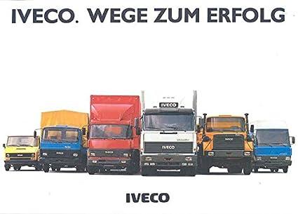 1987 Iveco Magirus Daily MK M T Truck Brochure German