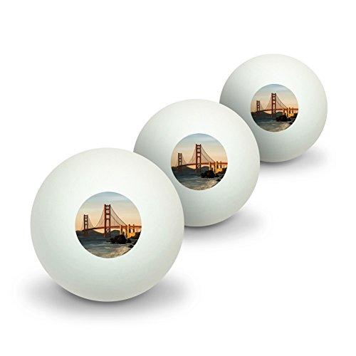 (GRAPHICS & MORE Golden Gate Bridge San Francisco Novelty Table Tennis Ping Pong Ball 3)