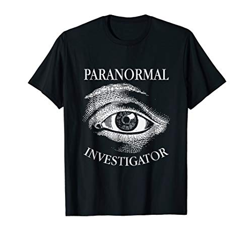 Paranormal Investigator All Seeing Eye Ghost Hunter T-Shirt for $<!--$16.99-->