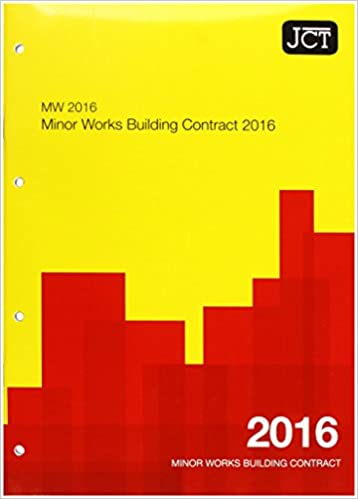 jct minor works contract free download