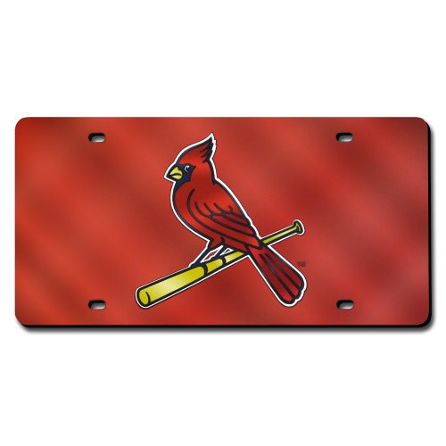 St. Louis Cardinals License Plate Laser ()