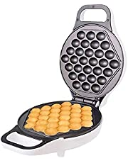 WSJTT Waffle Maker Machine for Individual Servings,Hash Browns + Other on the Go Breakfast,Lunch,Or Snacks,with Easy Clean,Non-Stick Sides 180 Degree Rotation,Double-sided Uniform Heating