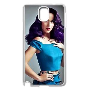 Katy Perry funda Samsung Galaxy Note 3 caja funda del teléfono celular del teléfono celular blanco cubierta de la caja funda EEECBCAAH11225