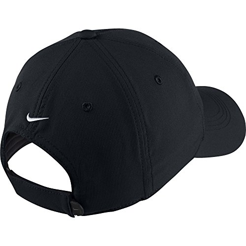 Nike Golf Tech Adjustable Blank Custom Hat Cap - Personalize With Your Own Team Or Business Logo (Black) by NIKE (Image #1)