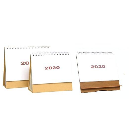 Kathariiy Calendario de Mesa 2019-2020,Calendario Escritorio ...