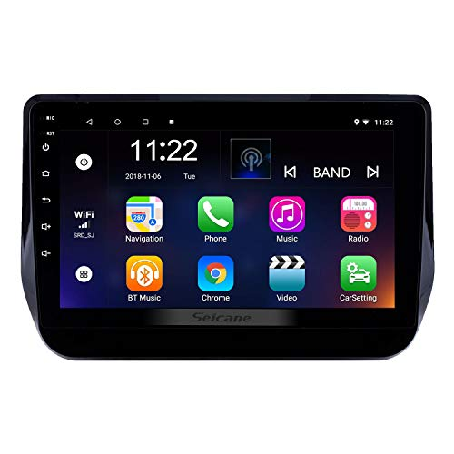 Radio GPS Navigation 9 Inch Android 8.1 for Hyundai H1 Grand Starex 2017-2019 Head Unit with WiFi USB Support Carplay DAB