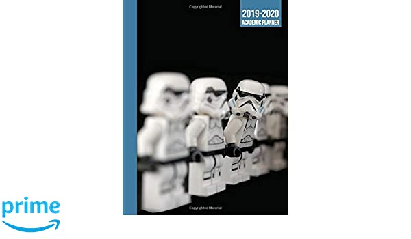 Amazon.com: 2019-2020 Academic Planner: Storm trooper star ...