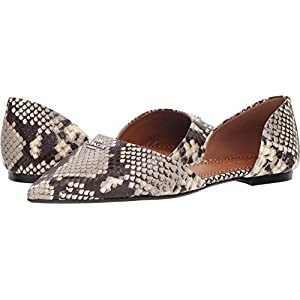 Coach Womens Printed Exotic Pointy Toe Flat