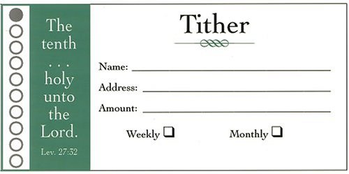 Offering Envelope Tithers