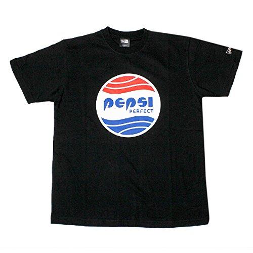 コットン Tシャツ ペプシ パーフェクト ブラック L