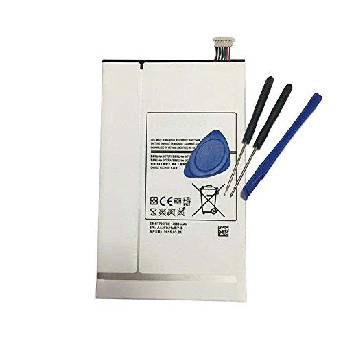 Powerforlaptop Tablet Battery + Repair Tools for Samsung Galaxy Tab S 8.4 T700 T701 T705 T705C SM-T700 SM-T701 SM-T705 SM-T707 EB-BT705FBC EB-BT705FBE EB-BT705FBU EB-BT705 (Galaxy Tab S 8.4 Best Price)