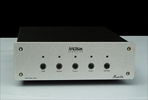 Metrum Acoustics Musette Non-oversampling Mini DAC with USB Analog-sounding! Silver by Metrum Acoustics