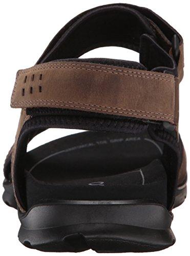 Ecco Mens Utah Sport Sandal Kaffe