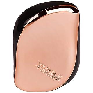 Tangle Teezer Compact styler detangling hairbrush, rose gold black, 1 Gram