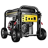 5000 Watt Portable Generator - Briggs & Stratton 30554, 5000 Running Watts/6250 Starting Watts, Gas Powered Portable Generator