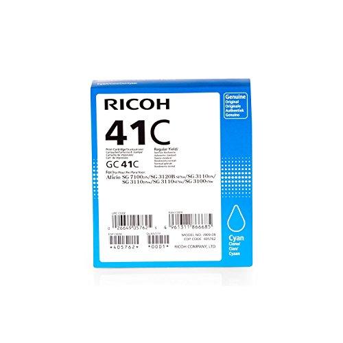 Ricoh 405762 Cyan - original - ink cartridge - for Ricoh SG