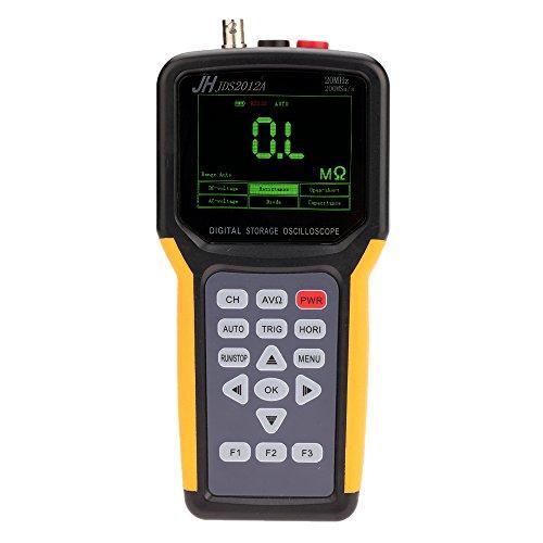 Multimeter Oscilloscope - KKmoon Handheld Multi-functional Digital 1CH Oscilloscope Portable Scope Meter 20MHz 200MSa/s Multimeter 4000 Counts