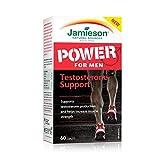 Jamieson Laboratories Men's Power Testosterone Support Supplement, 60 Count