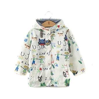 ANJUY Baby Animal Sunscreen Coat Kids Hoodies Outerwear Jacket Apparel