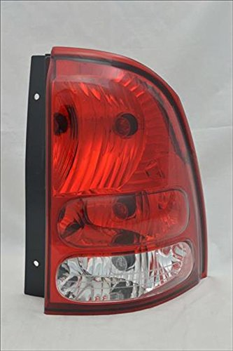 Multiple Manufacturers GM2801233N Partslink GM2801233 OE Replacement Tail Light Assembly BUICK RAINIER 2004-2007