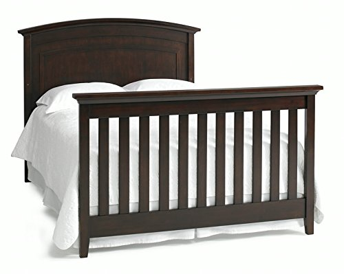 Dolce Babi Primo Crib Full Size Conversion Kit Bed Rails in Espresso by Dolce Babi (Image #1)