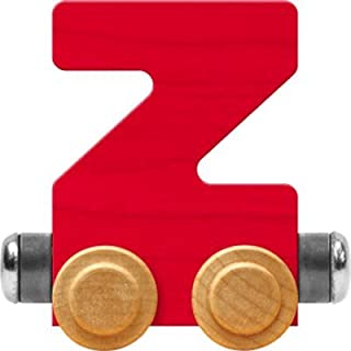 product image for Maple Landmark NameTrain Bright Letter Car Z - Made in USA (Red)
