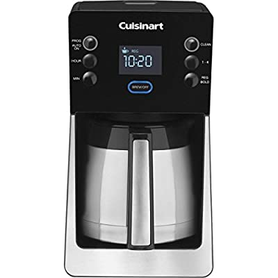 Cuisinart DCC-2900FR Small Kitchen Electrics Coffeemaker, Brushed Stainless/Black (Certified Refurbished)