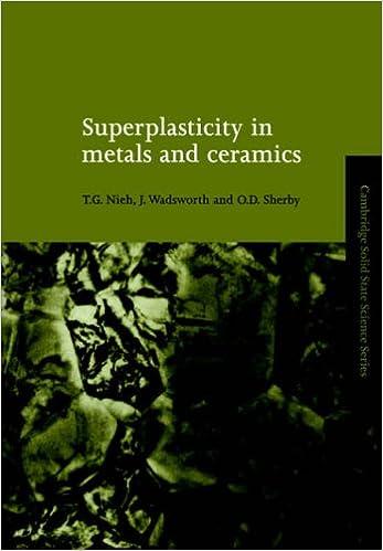 Amazon com: Superplasticity in Metals and Ceramics