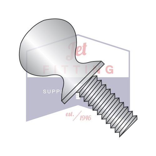 1/4-20X2 Thumb Screws | Type P | Shoulder | 18-8 Stainless Steel (QUANTITY: 600) by Jet Fitting & Supply Corp