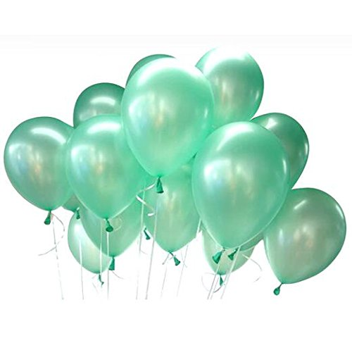 50pcs 12inch Mint Green Natural Rubber Latex Balloons Wedding Decorations Birthday Party Engagement -