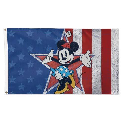 NCAA Disney Minnie Mouse Americana Flag 3 x 5 Foot