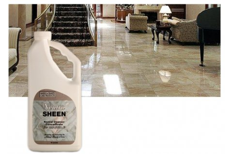NeutraSheen for Marble - 16 oz - Safely Cleans & Sanitizes - No Loss Of Gloss, Color, Or (Clarity Tile)