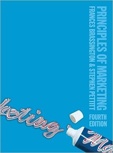 Principles of Marketing: Amazon co uk: Dr Frances