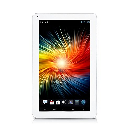 iRULU eXpro 1Plus Tablet PC (X1Plus), Quad Core, Android 5.1 Lollipop, 1GB RAM, 16 GB Nand Flash, 10,1 Zoll mit Auflösung 1024 * 600, Weiss