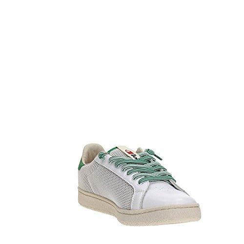 Sneakers Meadow Leggenda White EU Mesh 40 Lotto Bianco Autograph Pelle Uomo 0xOBqUn4wp