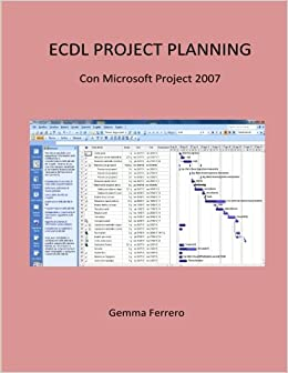 Ecdl Project Planning.: Con Project 2007