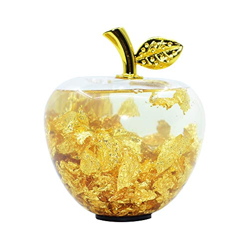 Unite Stone Crystal Apple Special New Year Present for Kids Wife Husband