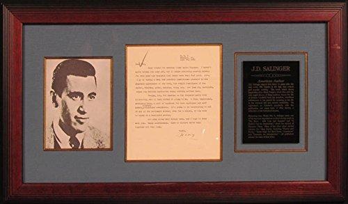 J. D. Salinger Typed Letter Signed 06/20/1962