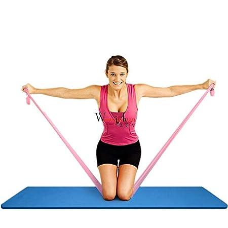 Elš¢sticos De Fitness Yoga Resistance Bands Latex Elastic ...