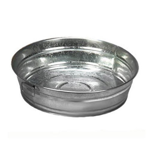 American Metalcraft MTUB12 Galvanized tub, 95 oz, Silver from American Metalcraft