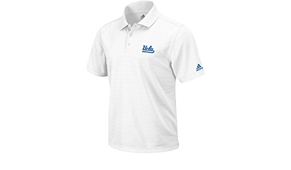 adidas UCLA Bruins Climalite Performance Polo Shirt Camisa ...