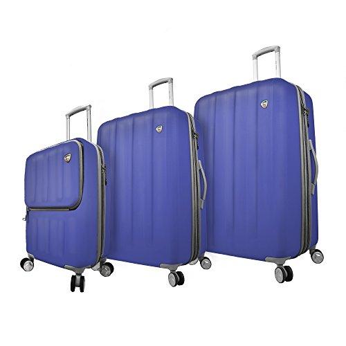 mia-toro-italy-mezza-tasca-hardside-spinne-luggage-3pc-with-10-year-warranty-blue