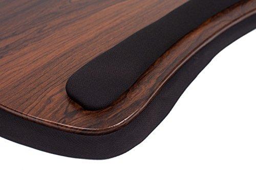 Sofia Sam Oversized Memory Foam Lap Desk Wood Top