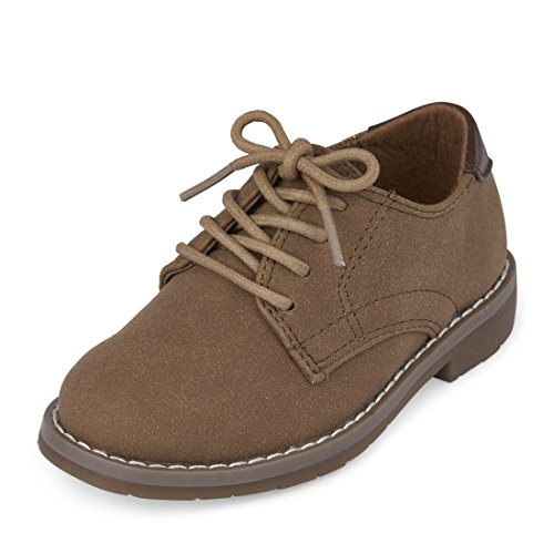 The Children's Place Boys' TB Bradley Slipper, Tan, TDDLR 9 Medium US Infant - Image 1