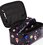 Kate Spade Daycation Navy Hot Air Balloons Cosmetic Case