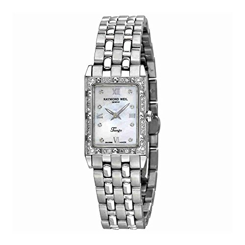 Raymond Weil Women's 5971-STS-00995 Tango Diamond Accented Stainless Steel ()